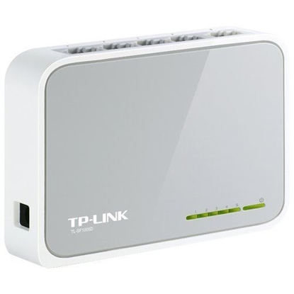 Picture of TP-LINK 5-PORT 10/100MBPS DESKTOP SWITCH TL-SF1005D