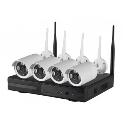 Picture of XVR-N3004 Xtremvision 4 channel wireless NVR KIT with 4 wireless IP camera